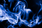 Smoke Trail Photos - Smoke Close Up by Marc Garrido