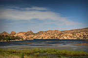 Watson Lake Photos - Smoke Over the Lake by Aaron Burrows