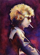 Bob Dylan Paintings - Smoke by Robert Hooper