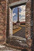 Gary Warnimont Metal Prints - Smoke Stack Metal Print by Gary Warnimont