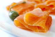 Salmon Photos - Smoked Salmon by Colin and Linda McKie