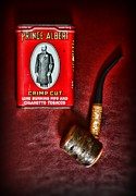 Smoker Posters - Smoker - Tobacco - Prince Albert and a Pipe Poster by Paul Ward