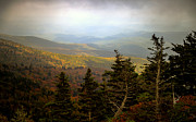 Smokey Mountains Photo Framed Prints - Smokey Mountain High Framed Print by Karen Wiles