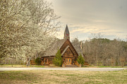 Betrothal Prints - Smokey Mountain Love Chapel 3 Print by Douglas Barnett