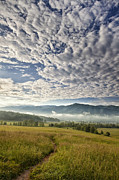 Grass Metal Prints - Smokies Cloudscape Metal Print by Andrew Soundarajan