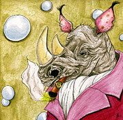 Julie McDoniel - Smoking Rhino #2