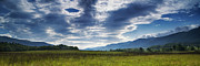 Cades Cove Photo Posters - Smoky Mountain Panorama Poster by Andrew Soundarajan