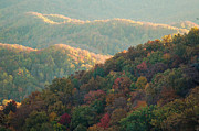 Patrick Shupert Metal Prints - Smoky Mountain View Metal Print by Patrick Shupert