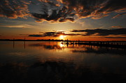 Joe Varneke - Smoky Sunset on Barnegat...