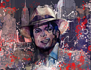 Smooth Criminal Print by MB Art factory