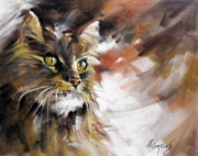 Rae Andrews - Smudge The Cat