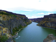 Idaho Scenery Prints - Snake River Canyon - Autumn Season Print by Photography Moments - Sandi