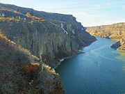 Google Mixed Media - Snake River Canyon - Winter Day by Photography Moments - Sandi