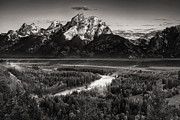 Snake River View Print by Andrew Soundarajan
