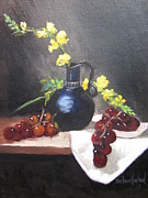 Barbara Haviland - Snapdragons Grapes and...