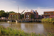 Snape Prints - Snape Maltings Print by Ralph Muir