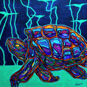 Fauvist Paintings - Snapper by Derrick Higgins