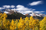 Autumn Scenes Prints - Sneffels Winds Print by Darren  White