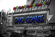 Sugar Photo Prints - Sno Cones Print by Cheryl Young