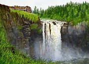 Sharon Freeman - Snoqualmie Falls 2  horizontal