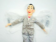 Pee Wee Herman Prints - Snow Angel Pee Wee Print by Ed Weidman