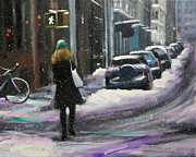 Chin H  Shin - Snow at the Corner of...