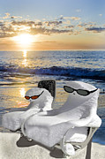 """reflection Photographs"" Posters - Snow Bird Vacation Poster by Gary Keesler"