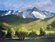 Carol Hart - Snow Capped Vista