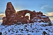 Adam Jewell - Snow Covered Turret