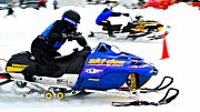 Winter Sports Picture Prints - Snow Drags - 10 Print by Don Mann