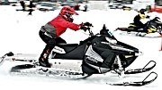 Winter Sports Picture Prints - Snow Drags - 14 Print by Don Mann