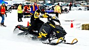Winter Sports Picture Prints - Snow Drags - 7 Print by Don Mann