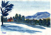 Frank Bright - Snow Fall In Vermont