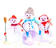 Claire Bull - Snow Family A
