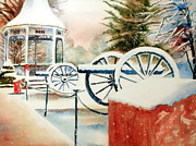 Winter Scene Painting Originals - Snow II by Kip DeVore