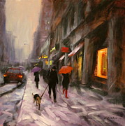 Chin H  Shin - Snow in New York City
