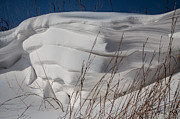 Snow Drifts Prints - Snow Layers Print by Jim McCain