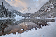 Tom Cuccio - Snow Maroon Bells