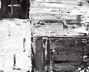 Boxes Paintings - Snow meadow 01 by Shawn Hempel