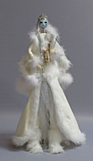 Steam Punk Sculptures - Snow Queen by Lynn Wartski