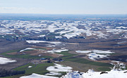 Seimagesonline Prints - Snow Remnants on the Palouse Print by Sharon Elliott