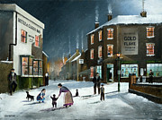 Ken Wood - Snow Scene At The Black...