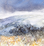 Snowy Painting Originals - Snow Was General Over Ireland by Kate Bedell