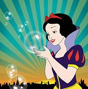 Snow White Print by Mark Ashkenazi
