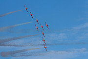 High Altitude Flying Art - Snowbirds by Matt Dobson