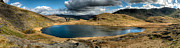 Lakes Digital Art Posters - Snowdonia Panorama Poster by Adrian Evans