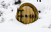 Winter Storm Photos - Snowed-In Hobbit House by Deborah Smolinske
