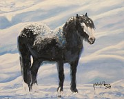 Melody Perez Metal Prints - Snowed In Metal Print by Melody Perez
