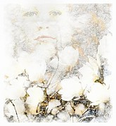 Snowfall Digital Art - Snowfairy by Gun Legler