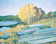 Nederland Originals - Snowline Lake by Al Hart